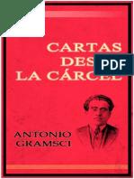 Cartas Desde La Carcel - Antonio Gramsci