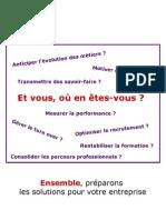 plaquette prospection