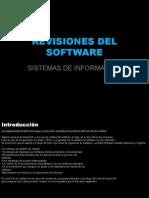 Revisiones Del Software