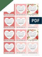Conversation Hearts Bible Verse Valentines