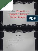 Seminar 1 Ppt Etruscii