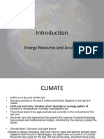 Introduction to Climate Changes Part 1
