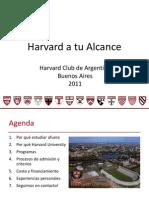 Harvard a Tu Alcance
