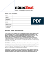 Venture Beat Freelance Contract