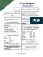 Tech Data Sheet ClearGuard Plus