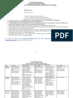 Final Examination Timetable 300l-500l