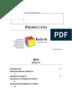 Tercer Informe Laboratorio de Productos