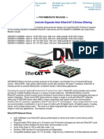 AMC Releases Four New EtherCAT Z-Drives New Product Press Release