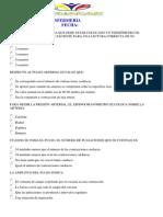 EXAMEN  II NIVEL ENFERMERÍA HUGO MERO 2