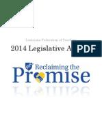 Louisiana Federation of Teachers 2014 Legislative Agenda
