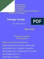 Medicina - Fisiología. Vascular