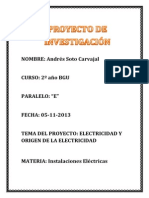 Proyecto Inst. Electricas