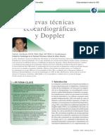 Nuevas técnicas ecocardiográficas y Doppler