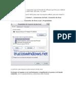Config Firewall de Windows-tipinfo