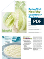 eatingwell healthy cauliflower recipe cookbook