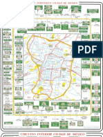 Mapas Anillo Periférico & Circuito Interior CD de Mexico
