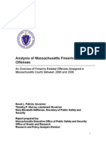 Analysis of Ma Related Offenses Between 2006 and 2008