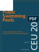Public Swimming Pools -American Society of Plumbing Engineers