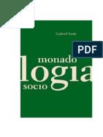 Tarde, Gabriel - Monadologia e Sociologia (2)