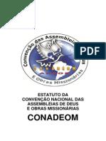 ESTATUTO DA CONVENÇÃO NACIONAL DAS ASSEMBLÉIAS