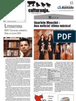 Culturanja. 04 de Outubro de 2009