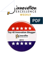 Top 40 Innovation Bloggers of 2013