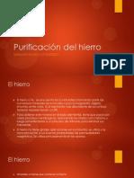 Purificación del hierro.pptx