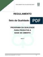 Regulamento Selo Qualidade ABCP Rev17