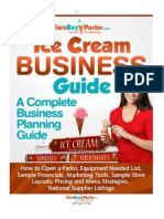 Ice Cream Business Book