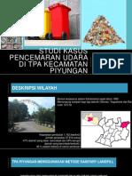 Studi Kasus Pencemaran Udara Di Tpa Kecamatan Piyungan