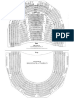 Jordan Hall Seating Chart