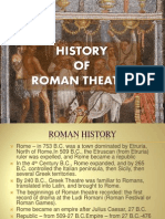 History Roman Theater