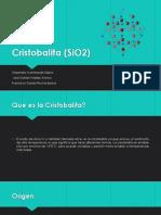 Cristobalita (SiO2)