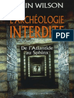 Wilson Colin - L'archéologie interdite.pdf