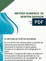 Metodo Numerico de Newton Raphson