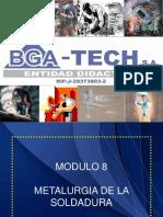 8 MÓDULO 8 METALURGIA DE LA SOLDADURA 2011 Cdad. OJEDA