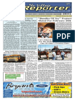 The Village Reporter - February 12th, 2014