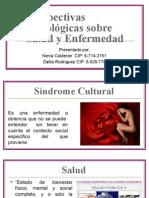 Sociología--Cultura y Salud