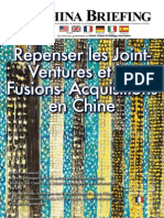 Repenser les Joint-Ventures et les Fusion Acquisitions en Chine