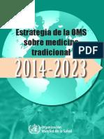 Oms y Medicina Tradicional 2014