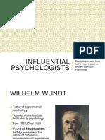 summary of psychologists vid links