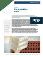 Managing the Innovation Portfolio to Win