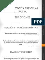 5.  Movilización  articular pasiva tracciones