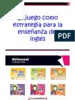 El juego en la enseñanza del inglés