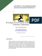 El Coloquio de Los Centauros, Esoterismo y Modernismo