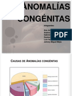ANOMALÍAS CONGÉNITAS (2)