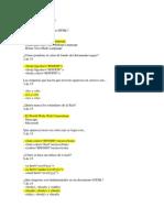Test Del Lenguaje HTML