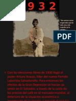 1932-Historia El Salvador