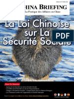 La Loi Chinoise sur La Securite Sociale