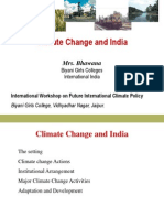 Climate Change and India